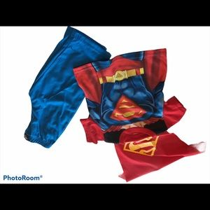 Superman size 24 months cape included!! Red blue